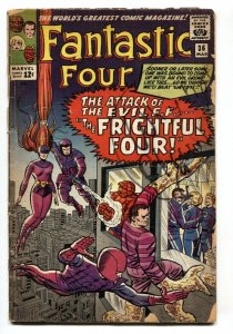 Fantastic Four #36 First appearance Medusa Frightful Four - comic book