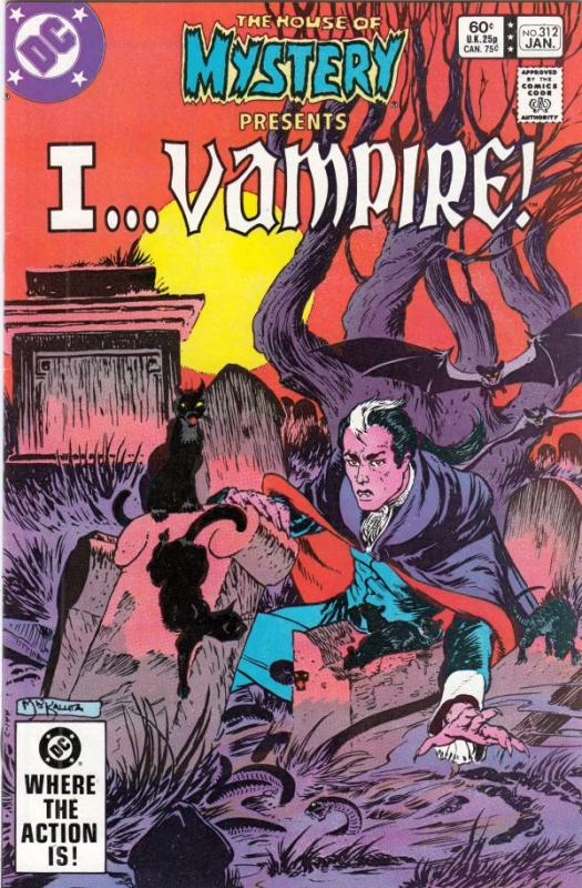 House of Mystery #312 (Oct-81) NM/NM- High-Grade I Vampire