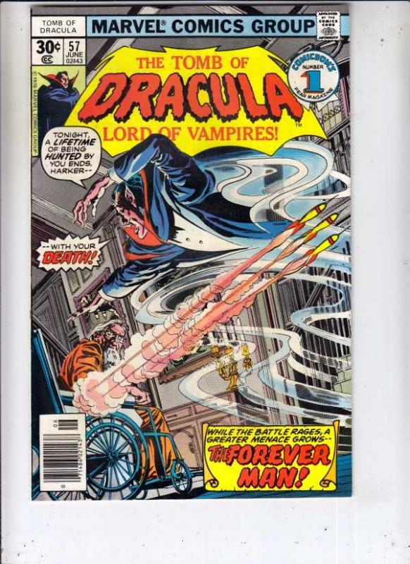 Tomb of Dracula #57 (Jun-77) NM/NM- High-Grade Dracula