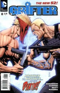 Grifter (2011 series) #8, NM (Stock photo)