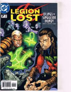 Lot of 6 Legion Lost DC Comic Books #7 8 9 10 11 12 BH32