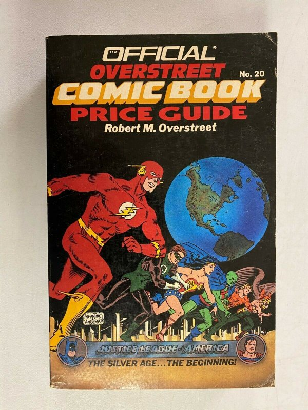 Overstreet Price Guide #20 Softcover 4.0 VG (1990)