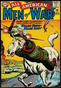 ALL AMERICAN MEN OF WAR #105-1964-JOHNNY CLOUD-vg+