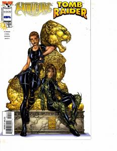 Lot Of 2 Tomb Raider Witchblade Image Comic Books #1 Revisited 1  DC1