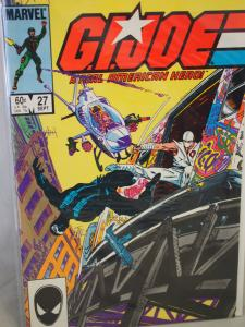 G.I. Joe A Real American Hero 27 VF/NM Unread. Snake Eyes origin issue.