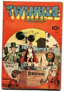 TWINKLE #1 comic book 1945-WWII STORIES-FUNNY ANIMALS