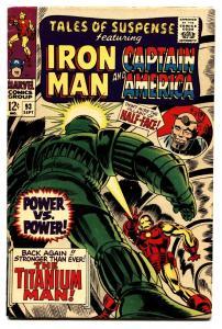 TALES OF SUSPENSE #93-comic book Titanium Man-Iron Man VF