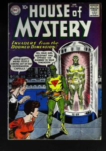 House of Mystery (1951 series) #106, VG+ (Actual scan)