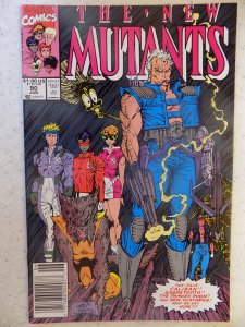 NEW MUTANTS # 90 LIEFELD HOT MOVIE