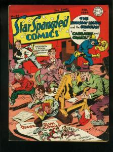 STAR SPANGLED COMICS #29-1944-SIMON & KIRBY WW II ISSUE FN/VF
