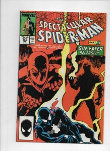 Peter Parker SPECTACULAR SPIDER-MAN #134 VF/NM Sin-Eater 1976 1988 more in store