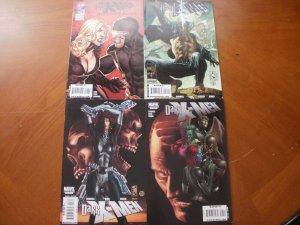 4 Near-Mint Marvel DARK X-MEN Comic #1 (The Confession) #2 #3 #4 (Limited Series