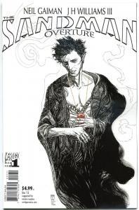 SANDMAN OVERTURE #1, NM, Neil Gaiman, 2013, Variant, more VERTIGO in store