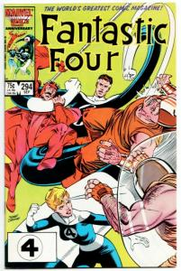 Fantastic Four #294 (Marvel, 1986) FN/VF