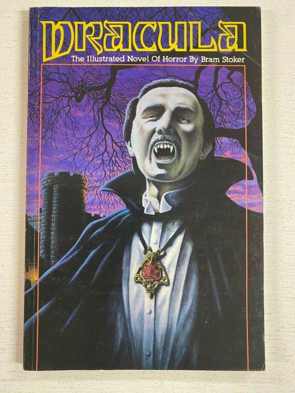 Dracula TPB SC Illustrated novel of Horror by Bram Stoker 4.0 VG (1990 Malibu)