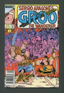 Groo The Wanderer #23  / 9.4 NM  / Newsstand /  January 1987