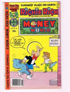Richie Rich Money World #38 VF Harvey World Comic Book 1972 DE7