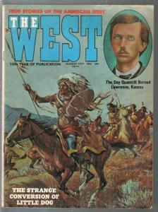 West 1/1970-Maverick-Indian attack-Colt Model 1860 revolver-VG