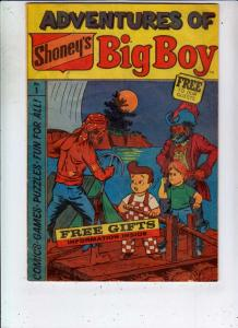Big Boy #1 (Jan-76) FN Mid-Grade Big Boy