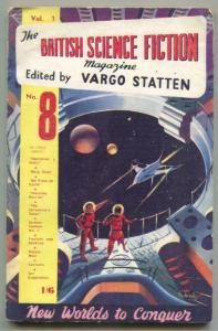 British Science Fiction Magazine #8- Operation Orbit