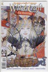 WITCHCRAFT: La Terreur #3, Vertigo,Witches, Locke, NM/M