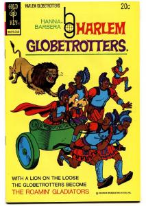 Harlem Globetrotters #7 1973-world famous basketball team-Hanna-Barbera-VF/NM