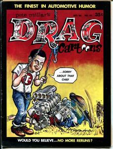 Drag Cartoons #32 1966-Tom Bell-Wonder Warthog-Gilbert Shelton-FN