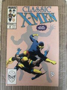 Classic X-Men #33 (1989)