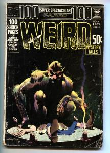 100 Page Super Spectacular #4 1971- WEIRD MYSTERY TALES  Berni Wrightson VG-