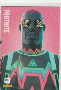 Fortnite Liteshow 130 Uncommon Outfit Panini 2019 trading card series 1