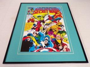 Marvel Comics Secret Wars #1 Framed 16x20 Cover Poster Display
