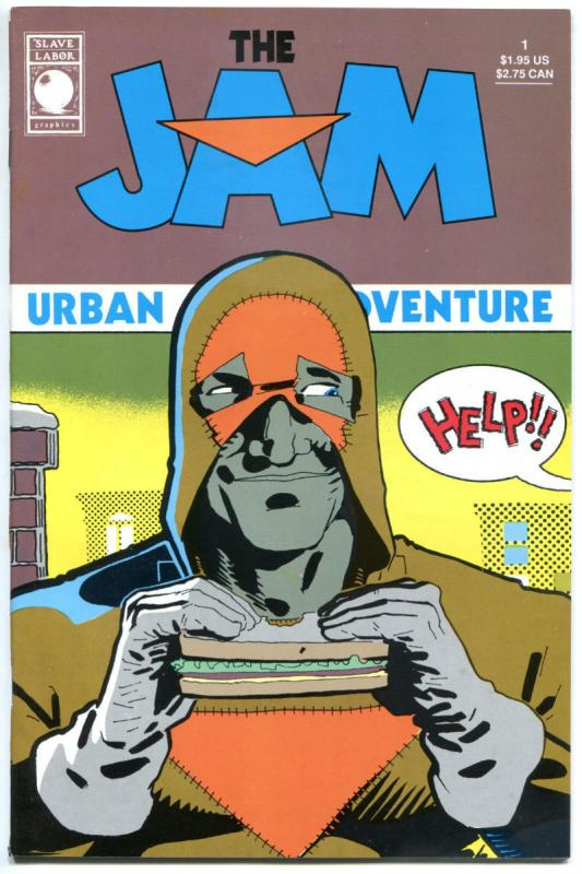 The JAM #1, VF+, Slave Labor, 1989, Bernie Mireault, more indies in store