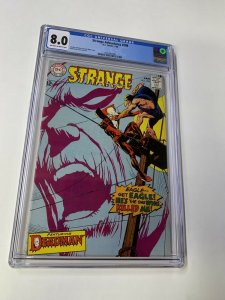 Strange Adventures 208 CGc 8.0 Ow/w Pages 4th Deadman Dc Silver Age Comic
