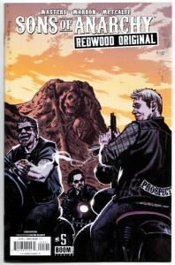 Sons of Anarchy Redwood Original #5 Subscription Variant (Boom!, 2016) FN