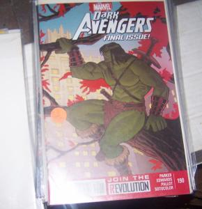 DARK AVENGERS # 190  2013  MARVEL  LAST ISSUE