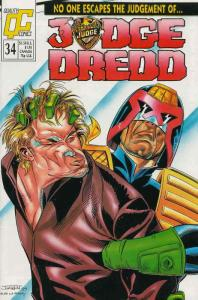 Judge Dredd (Vol. 2) #34 FN; Fleetway Quality | save on shipping - details insid