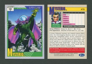 1991 Marvel Comics II  Card  #70 ( Mysterio )  MINT