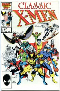 CLASSIC X-MEN #1, NM, Arthur Adams, Wolverine, Storm, 1986, John Bolton