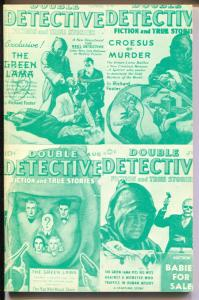 Pulp Classics #14 1976 Weinberg-Green Lama-Double Detective-VG/FN