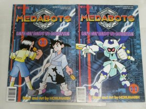 MEDABOTS (1999 VIZ) Part 2, 1-2  Toy & Animae Tie-in !