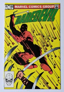 Daredevil #189 (Dec 1982, Marvel) NM- 9.2 Black Widow appearance Frank Miller