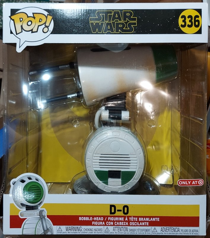 Star Wars Giant 10 inch Funko Pop D-O #336 New in Box