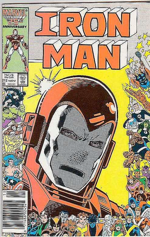 Iron Man #212 (Oct-87) VF/NM High-Grade Iron Man