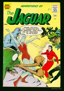 Adventures of the Jaguar #3 VG/FN 5.0 White Pages