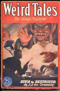 Weird Tales 7/1931-Popular-horror-fantasy-rare pulp-O A Kline-H P Lovecraft-G