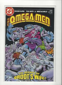 Omega Men #12 Broots Wife Copper Age DC Comics  VF