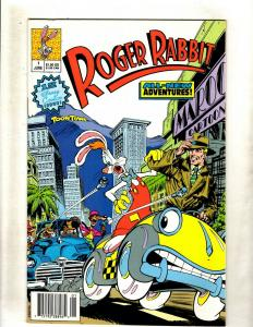 Roger Rabbit # 1 VF/NM Disney Comic Book Toon Town All New Adventures WS9