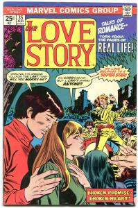 Our Love Story #35 1975- Marvel Bronze Age Romance- FN