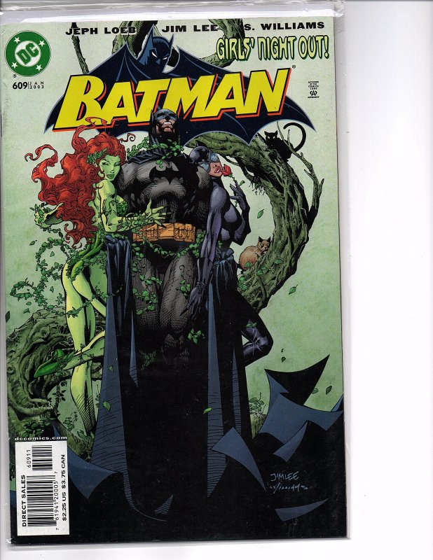 DC Comics Batman #609 Jim Lee Girls' Night Out 1st App. Thomas Elliot (Hush)
