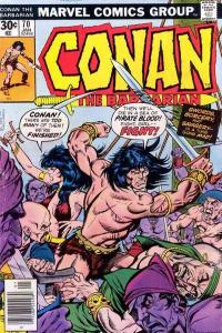Conan the Barbarian (1970 series) #70, VF (Stock photo)